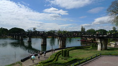 The Bridge over the River Kwai (naca3) Tags: thai kanchanaburi kwai lx3