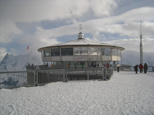 The rotating restaurant at 10,000 feet