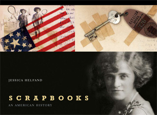 The cover of Scrapbooks: An American History by Jessica Helfand
