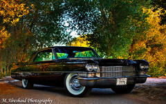 Cadillac Deville (Mishari Al-Reshaid Photography) Tags: auto old trees black reflection classic cars car photoshop canon reflections automobile automotive cadillac american kuwait deville canondslr oldcars canoneos hdr photoshopcs2 classiccars 1963 q8 carphotos carphotography 24105 blackcar canonef24105f4l gtm americancar carphoto canoncamera canonphotos canoneflens imagestabilizer 24105mm cadillacdeville automotivephotography q80 canonllens 40d mishari canonef24105f4lis kuwaitphoto kuwaitphotos canoneos40d canon40d kuwaitcars kvwc kuwaitartphoto gtmq8 kuwaitart kuwaitvoluntaryworkcenter kuwaitvwc grendizer99 hyperdynamicrange kuwaitphotography grendizer99photos misharialreshaid malreshaid misharyalrasheed