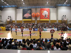 Osaka Evessa Pre-Game - Kadoma, Osaka, Japan (glazaro) Tags: city basketball japan japanese asia stadium arena dome  osaka sendai kansai kadoma namihaya bjleague evessa 89ers