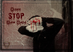 Save Gaza (Xploi ) Tags: world pakistan copyright art love broken one still hurt nikon war asia alone shot heart  captured creative save hate karachi 2009 soe nomore gaza atif supershot abigfave anawesomeshot nikoncorporation theunforgettablepictures xploiter