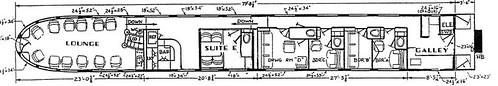 Train Chartering - Private Rail Car Silver Solarium plan
