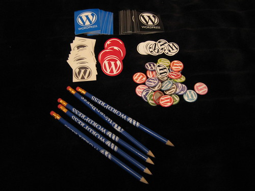 WordPress Schwag