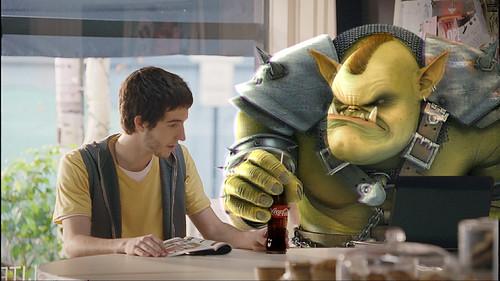 Comercial de Coca-Cola Avatar