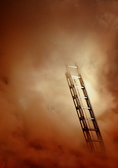 Stairways to heaven (noamgalai) Tags: nyc rescue ny newyork building fire photo lexington smoke picture photograph ladder 33rd firefighter firefighters stairwaytoheaven sitenews   buildingonfire stairwaystoheaven  noamg noamgalai