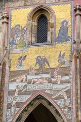 Mosaics (Adam R. Paul) Tags: travel europe prague praha praskhrad czechrepublic stvituscathedral hradany praguecastle eskrepublika katedrlasvathovta