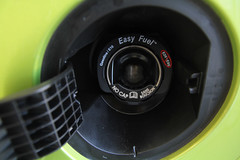 Capless gas tank 2011 Ford Fiesta