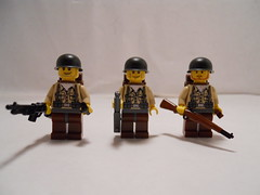 American Infantry (WW2) (THEBrickTrooper) Tags: infantry soldier lego american ww2 minifig brickarms