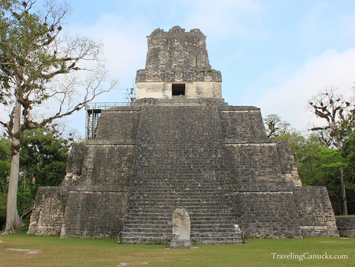 Temple 2 at Tikal Gran Plaza