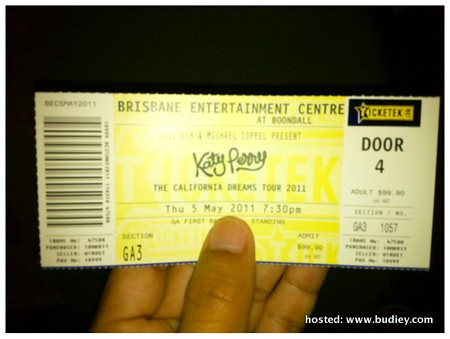 Katy Perry Brisbane