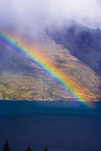 Lake Whatatipu Rainbow 2