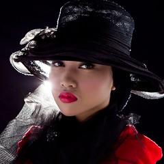 ari @ redmedia studio2 (zuhri) Tags: lighting girl beautiful lady dark studio student model background indoor sombre portraiture mysterious malay strobes
