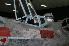 R2D2 & X-Wing Fighter (jerryfi_99) Tags: museum starwars denver r2d2 xwingfighter t65 wingsovertherockies 34scale