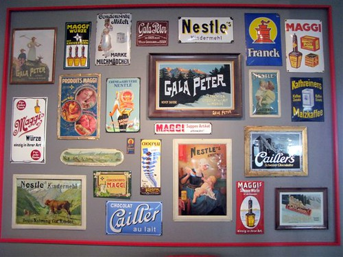 vintage Nestle wrappers