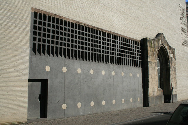 detail of Kolumba Museum, Cologne - Peter Zumthor and Gottfried Böhm, photo by Claus Moser