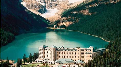 Hotel del Castillo en el lago Louise