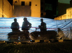 the other side (shaari.) Tags: street light shadow people male night canon lights workers construction raw shadows unique bricks streetphotography ixus labour streetphoto maldives amps globalvillage shaari canonphotography asianphotographers ombreshadows rawstreetphotography uniquemaldives 860is maldivescentral