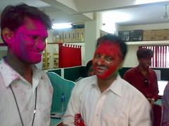 Kiran and prakash (thecancerus) Tags: rangpanchami