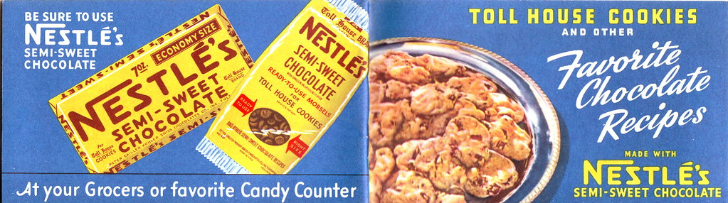old 1941 Nestle's Toll House Cookies booklet