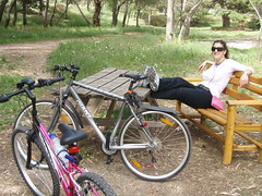 Relaxing :) (xwtiko) Tags: trees tree nature bicycle friend ride xania chania  podilato   podilata