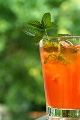 Bourbon Mint Tea