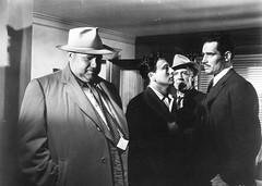 Orson Welles in Touch of Evil (1958) (cinema_lasuperlativ2) Tags: hollywood 1958 classicmovie orsonwelles touchofevil classiccinema cinemalasuperlativ filmefavoritecornel