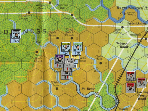 Lee vs. Grant - Scenario 4: Spotsylvania Court House