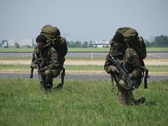 getarnte Bundeswehr Bodentruppen