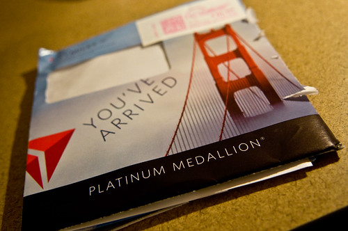 Platinum Medallion FTW!