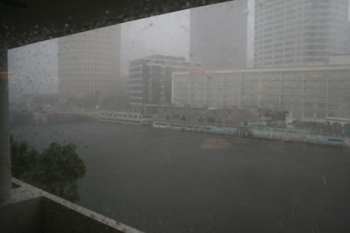 Hillsborough River rainstorm