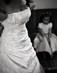 The future starts here (rui lebreiro) Tags: wedding blackandwhite bw white black girl bride blackwhite nikon dress weddings fullframe nocolornolie venustreet