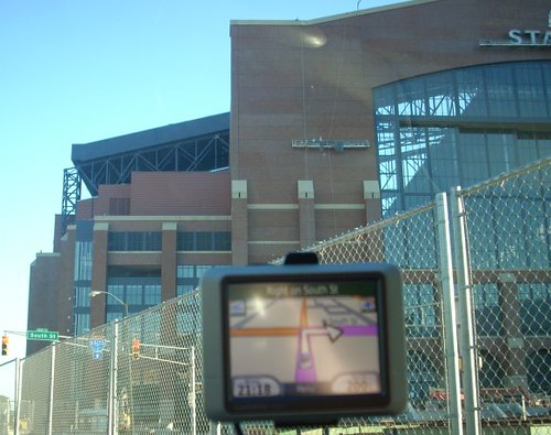 GPS leads through Lucas Oil Stadium