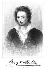 Percy Bysshe Shelley, 1792-1822 originally uploaded by Jeffrey Beall
