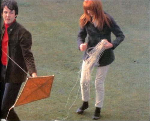 Paul McCartney Jane Asher 1966