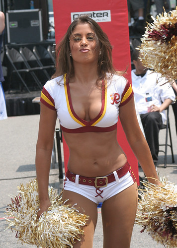 hail redskins redskin cheerleaders