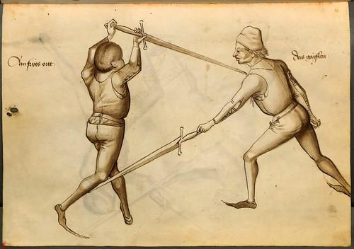 01b-ejercicios de esgrima con la espada larga, 6v