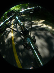 P1330194 () Tags: motion macro outside blurry action wideangle fisheye telephoto biking forestpreserve dizzy bikeride spinny exersize