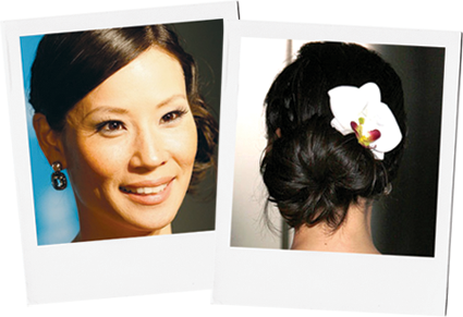A couple months ago, Lucy Liu went to a charity benefit, from which we