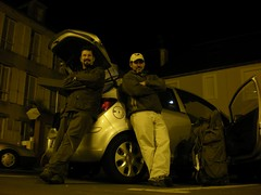 Arrived in the Opel (Arromanches-les-Bains, Basse-Normandie, France) Photo