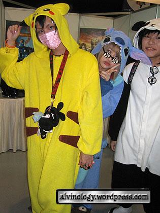 pikachu and stitch