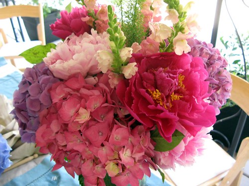 Hydrangeas and Peonies