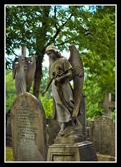 Angel (veggiesosage) Tags: nottingham graveyard architecture cemetary aficionados pentaxsmcm50mmf14 andyplattveggiesosage