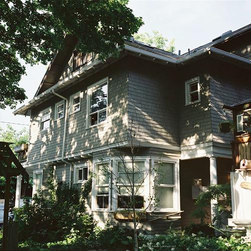 our (temp) house