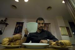 Buona Colazione (Stranju) Tags: breakfast canon or c un dolce gelato po croissant prima cappuccino grandangolo tazzina cibo cioccolato moka arborea colazione cornetto salato flauto tazzona cornetti flauti stranju mokaefti duelitri diciventi blupub
