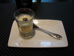 L'Atelier de Joel Robuchon: Amuse bouche (another view)