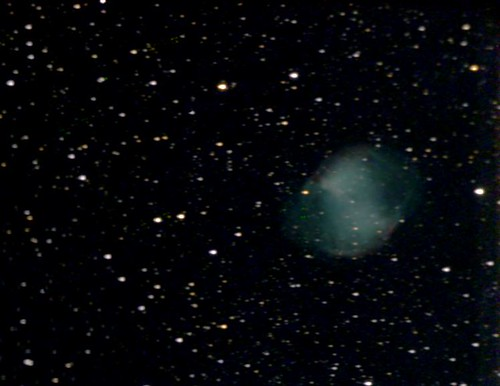 M27-Dumbell Nebula on 7/11/08