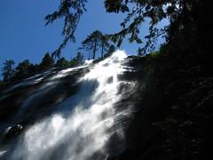 Bridal Veil Falls, looking UP