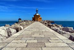 Punta Sabbioni (magicoda) Tags: venice italy faro italia venezia spiaggia hdr veneto diga puntasabbioni magicoda davidemaggi maggidavide