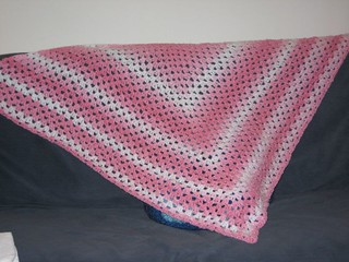 Ravelry The Original Half Granny Square Shawl Pattern By